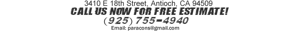 Contact Paradigm Concrete